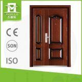 Neue Entwurfs-Vorderseite verwendete bearbeitetes Eisen-Sicherheits-Tür