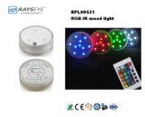 Indicatore luminoso di umore di RGB con l'indicatore luminoso decorativo dell'indicatore luminoso della candela di controllo di IR