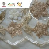 Bordados Sequins Chiffion Lace Tecido Lurxe Lace