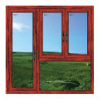 Guangzhou-Aluminiumtür-Fenster-Scheiben-Gelenk-Fenster mit Verschluss