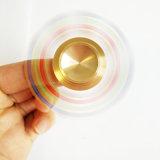 Fileur lumineux de main en métal de gyroscope de bouts du doigt de klaxon amovible de la spirale 6