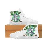 標準的な人および女性のキャンバスのスニーカーのHicut 015の昇華習慣は靴を作る