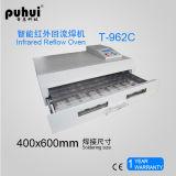 Forno do Reflow de BGA, máquina automática do forno da solda de Reflow, Taian, Puhui, forno do Reflow do ar quente, máquina de solda da onda pequena de T962c