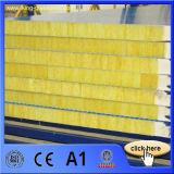 Materiales de material para techos Rockwool/el panel de emparedado de las lanas de cristal