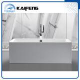 Bañera derecha libre del acrílico inconsútil de dos piezas del Upc (KF-737K)