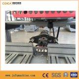 Máquina Drilling da dobradiça principal dobro para a porta de alumínio