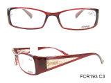 형식 주입 숙녀 White Eyeglasses Eyewear