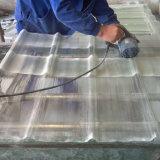 Fuerte resistencia a impactos resistentes al calor FRP hojas de techos translúcidas