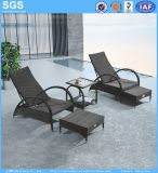 Beach Hotel Jardim de móveis de vime mobiliário cadeira reclinável