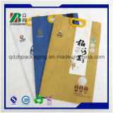 Sacs d'emballage en plastique pour riz et farine de blé avec poignée