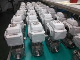 Ss304 /Ss316 Electric 3PC Ball Valve 220V AC/110V AC 24V DC