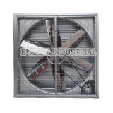 Ventilateur industriel de refroidisseur d'air de ventilateur de serre chaude de ventilateur de ventilateur d'extraction de déflecteur