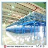 Sistema resistente do assoalho de mezanino da cremalheira da pálete de Europa da facilidade de armazém