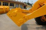 China Luqing 6 Ton van de Lader van het Wiel met de Emmer van de Rots