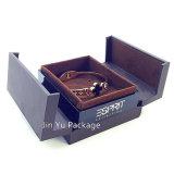 Caja de presentación de cuero plástica de la joyería del regalo de la joyería de la marca de fábrica Jy-Jb177