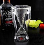 Taza de cristal creativa Taza de cerveza Taza de la fiesta Taza de la barra Taza de la sirena de la forma