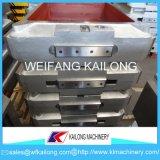Linha de molde fundando caixa da elevada precisão de molde usada para a fundição
