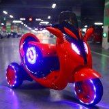 3개의 빛을%s 가진 플라스틱 바퀴 아이 전기 모터바이크