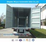 13 meter 3 Axle Steel Van Cargo Trailer of Van Semi Trailer voor Lading stortgoed