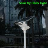 太陽電池パネルが付いている太陽LEDの庭の通りの再充電可能なライト