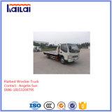4X2販売のための平面レッカー車の道レスキュートラック