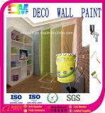 Deco diseño elástico de la arquitectura de la pared, una siesta de pintura de pared