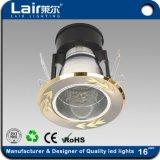 A arte de Poupança de Energia da Luz do LED do candeeiro de tecto de sabugo com marcação RoHS UL