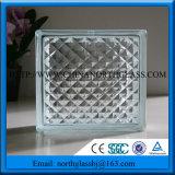 2016 caldo vendendo un mattone di vetro libero decorativo di Builiding del grado