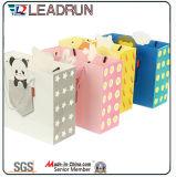 Мешок упаковки серой гофрированной бумага бумаги руки искусствоа картона смещенной бумаги Coated изготовленный на заказ бумажный (F94)