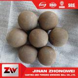 75mncr B2 forjó las bolas que molían la bola de la laminación en caliente de las bolas