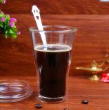 350ml Borosiolciateのガラスコップのガラスミルクのコップ