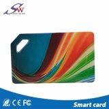 Zoll gedruckte wasserdichte Chipkarte Eopxy RFID Keyfob Em4100