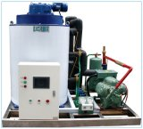 Máquina de gelo de flocos de fabricante superior com Compressor Bitzer para processamento dos alimentos