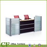Comptoir de réception à bon marché de table blanc de conception personnalisée comptoir de réception