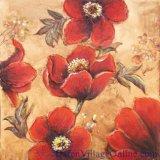 La peinture huile sur toile floraux décoratifs (129)