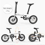 Bici della batteria nascosta mini bici E di piegatura di 16 pollici elettrica