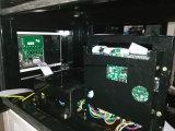 L'affissione a cristalli liquidi del modello quattro del doppio della stazione di servizio video un modello popolare
