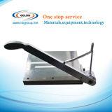 Cortador manual de comprimento de 500 mm para bateria de lítio Efeito de corte de folha de eletrodo e bateria