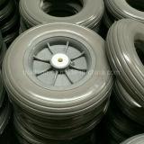 6X2 8X2 10X2 12X2 12X3 fester Gummi PU-Schaumgummi-flacher freier Gummireifen