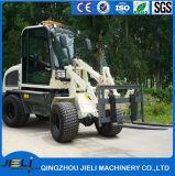 Pala cargadora frontal Tractor agrícola Palas Cargadoras ZL08 para el mercado europeo