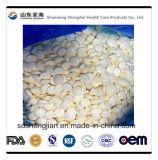 Supplément organique normal de vitamine C d'acide ascorbique mâchant la tablette