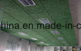 1200X600mm/2440X600mm/600X600mm Gaststätte-Innenholzwolle-Faser-akustische Wand