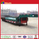 Vrachtwagen de van uitstekende kwaliteit van de Aanhangwagen van de laag-Lader van 3 Assen