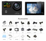 Камера действия спорта WiFi 1080P HD делает 30m водостотьким 170 широкоформатных 12MP для весьма спортов