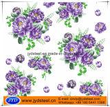 PPGI stampato con il disegno del fiore