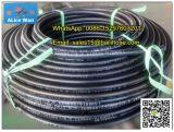 Гладкая поверхность SAE 100 R1 на R2/ DIN EN 853 1SN 2SN резиновый шланг/ гидравлического шланга