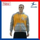 Healong中国の刺繍のロゴの十代の若者たちHoodieの卸し売り衣服の方法デザイン