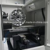 방어적인 편평한 침대 다이아몬드 커트 합금 바퀴 수선 CNC 선반 (AWR2840PC)