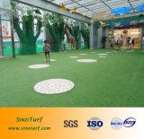 زخرفة حديقة مرج اصطناعيّة, [30مّ] [40مّ] عشب رخيصة, اصطناعيّة مرج عشب لأنّ مدرسة