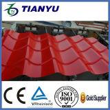 Tuile de toit ondulée en acier en métal de matériau de construction faisant la machine